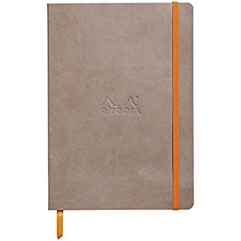 Rhodia Rhodiarama Carnet A5 160 pages 90 g Dot Taupe