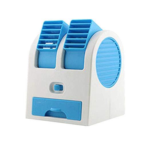 popchilli Mini-Kühler USB-Lüfter Kühler Wasser-Klimaanlage Lüfter Tragbares Auto Mini-Klimaanlage Kleiner Lüfter Persönliches Büro USB, für die Anreise mit dem Auto zu Hause (Persönliche Luft-kühler)