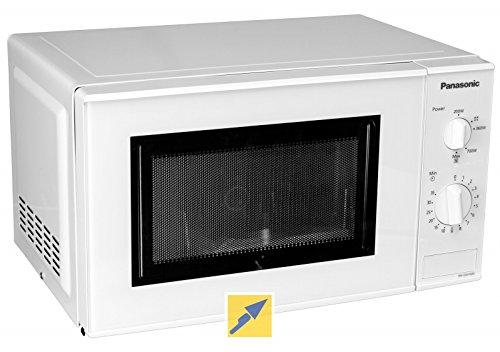 Panasonic nn-e201W Horno Microondas Capacidad 20Litros Potencia 800W) Color Blanco