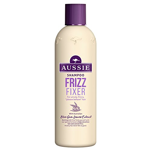 Aussie Frizz Fixer Shampoo for Unruly and Frizzy Hair, 300 ml - Pack of 3