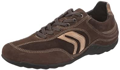 Geox UOMO COMPASS U1326N00022C6414, Herren Fashion Sneakers, Braun (DK BROWN/CHOCOLATE C6414), EU 39