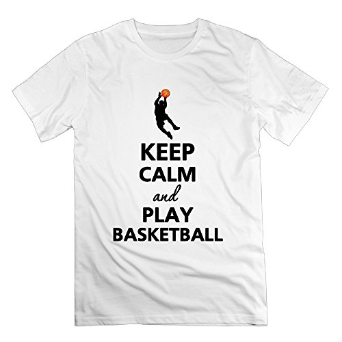 xj-cool-keep-calm-and-play-basketball-herren-sportbekleidung-tshirt-deepheather-gr-xl-weiss