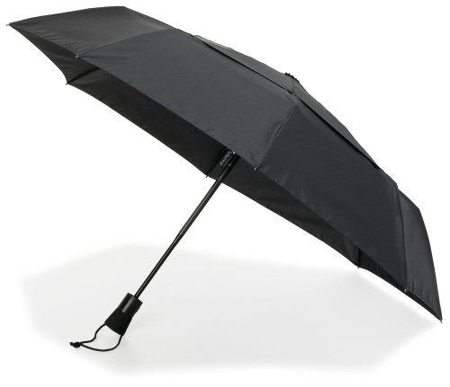 shedrain-windpro-mini-umbrella-auto-open-close-black-one-size