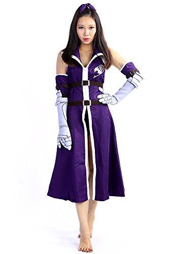 De-Cos Fairy Tail Cosplay Costume Titania Erza Scarlet Fighting Outfit Set V3 (Fairy Tail Kostüme Für Erwachsene)