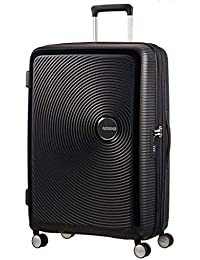 American TOURISTER Soundbox - Spinner 55/20 Expandable Suitcase