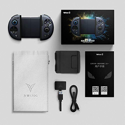 VCB Gamepad Joystick Spielekonsolen Controller Tastatur Maus Konverter Battledock - schwarz