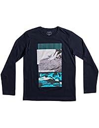 Quiksilver LS garçon classique Tee YTH Jem Corps T-shirt à manches longues, Enfant, Ls Classic Tee Yth Jem Barrel
