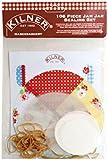 Kilner 108-Piece Haberdashery Jam Jar Sealing Set, Multi-Colour