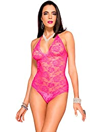 Womens Spaghetti Strap Leopard Print Hotpinkblack Party Dress, Pink, One Size (Manufacturer Size:Small/Large 34-40) Music Legs