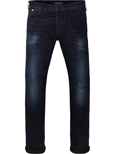 Scotch & Soda Herren Slim Jeans Ralston-Jet Set Blau (Jet Set 1394)