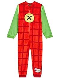 Pijama de pijama para niños de Bing Bunny para niños, mono de forro polar para niños, todo en uno para niños y niñas de 12 meses a 6 años