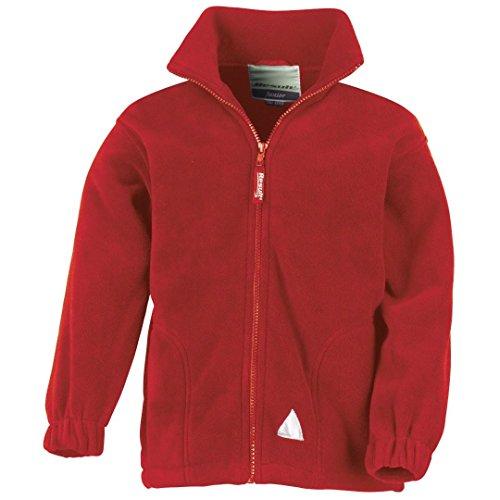 Result Junior Polar-Therm veste Rouge