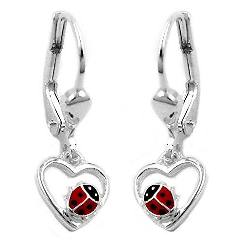 handmade-heart-shaped-earrings-with-ladybird-handpainted-925-sterling-silver
