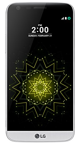 LG G5 Smartphone (5,3 Zoll (13,5 cm) Touch-Screen, 32GB interner Speicher, Android 6.0) silber