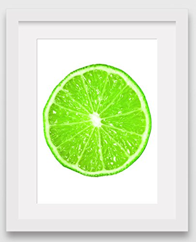 lime-slice-print-green-citrus-fruit-art-8-x-10-inches