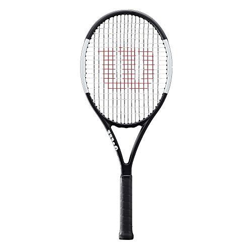 Wilson Tennisschläger, Pro Staff Team, Unisex, Ambitionierte Freizeitspieler, Griffstärke L3, Schwarz/Weiß, - Tennis Wilson Racket