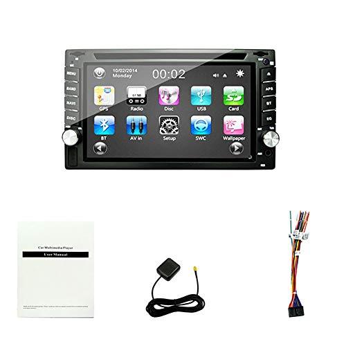 KBKG821 Auto LCD-Spieler mit virtueller Tastatur, Rückansicht Umkehrfunktion und Bluetooth-Freisprecheinrichtung DVD Blu-Ray-Player, GPS-Navigation/Unterstützungs-USB und SD-Karte (6,2 Zoll)