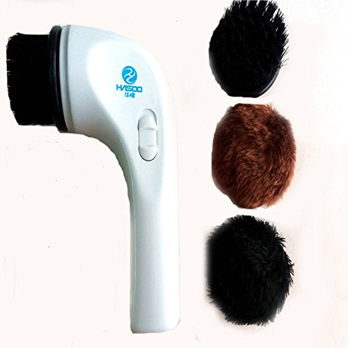 GENERIC Automatic Car Shoe Brush Shoe Machine Shoe Shine USB Interface Multifunction Handheld Mini Electric Shoe Polisher