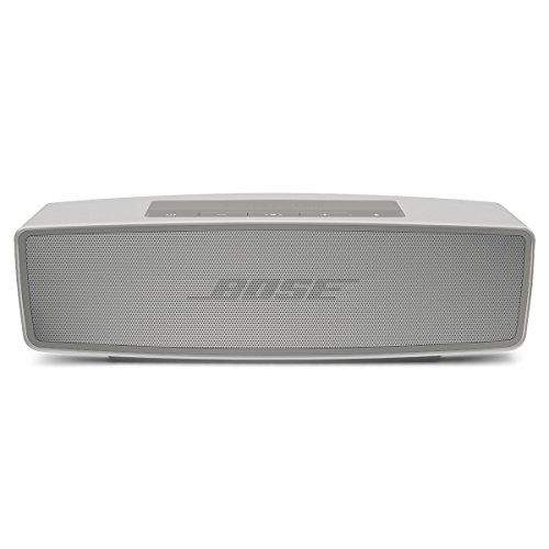 Bose SoundLink Mini II - Altavoz portátil Bluetooth, color perla