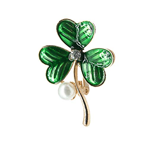 BESTOYARD St. Patricks Day Dekorationen Emaille Brosche Pin Schmuck Party Supplies Kostüm Zubehör ()