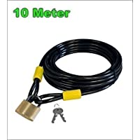 Starry Cierre de cable Candado de cable Candado Bicicleta Candado 10000/10 mm - 01200154