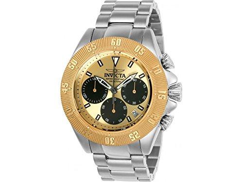 hr- 22398_Black, Gold (Invicta Watch Black Gold)