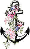 Vintage Anchor Temporary Tattoo *Premium Quality Die Cut Transfer*