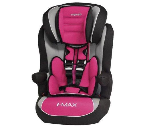 NANIA I-Max SP Luxe Agora Lampone - Seggiolino per auto di gruppo 1/2/3