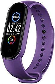 BATHRINS Fitness Tracker Orologio Sport M5 Intelligente Bluetooth Braccialetto Impermeabile IP67,Dormire,Meteo