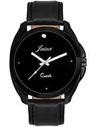 Jainx Black Dial Analog Watch For Men & Boys - JM235