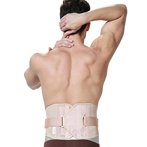Faja espalda hombres - ULTRA LIGERA - Apoyo lumbar/postura