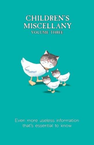 The Children's Miscellany Volume 3