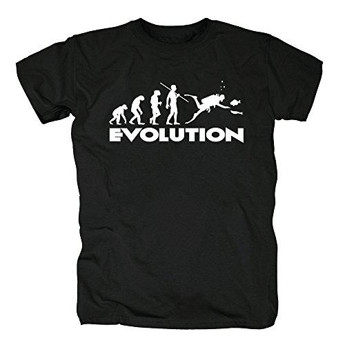 TSP Evolution Dive T-Shirt Herren XL (Hund Tauchen Kostüm)