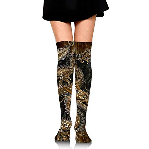 Feetures Low Cut Sock (Doormat-bag Funny Dragon Womens Socks Thigh High Knee High Socks Running Socks)