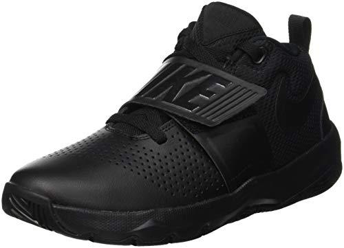 NIKE Jungen Team Hustle D 8 (gs) Basketballschuhe, Schwarz Black 013, 36.5 EU