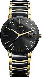 Rado Herren-Armbanduhr XL Analog Quarz Edelstahl 115.0929.3.015