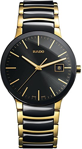 Rado Men's 'Centrix' Quartz Stainless Steel Casual Watch, Color:Two Tone (Model: R30929152)
