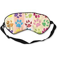 Eye Mask Eyeshade Dog Color Paw Footprint Sleeping Mask Blindfold Eyepatch Adjustable Head Strap preisvergleich bei billige-tabletten.eu