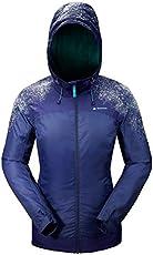 Quechua SH500 Warm Women's Snow Hiking Jacket - Blue