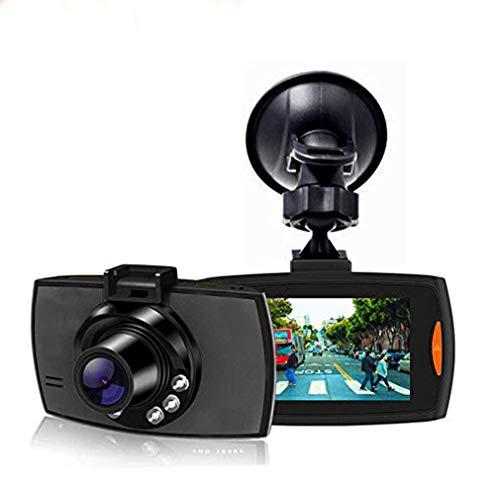 Dash Cam / 1080P Full HD/Auto Armaturenbrett/Kamerarecorder/Hochempfindlicher G-Sensor / 6 IR LED Nachtsicht/Schleifenaufnahme/Bewegungserkennung/Parküberwachung/Dynamische Induktion