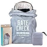 Borsa da Viaggio per Passeggino| Ideale per il Check-In del Gate in Aeroporto| Durevole, Impermeabile e Protezione al 100%| Facile da Trasportare e Identificare| Ottima Soluzione di Conservazione.