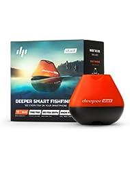 Deeper START Smart Fishfinder – Un sondeur léger sans fil Wi-Fi pour la pêche depuis le rivage
