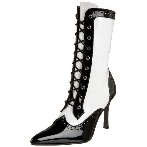 n GANGSTER-101 36 EU (Black Und White Gangster Schuhe)