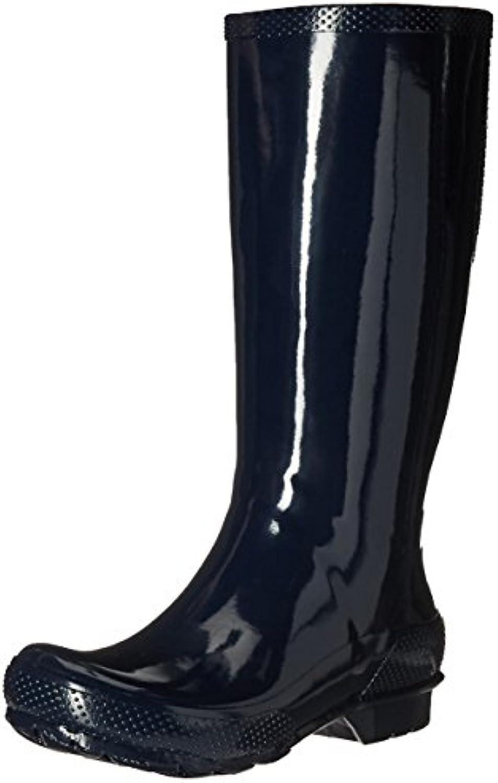 Crocs Womens Tall Rain Boot Navy Blue 38-39EU