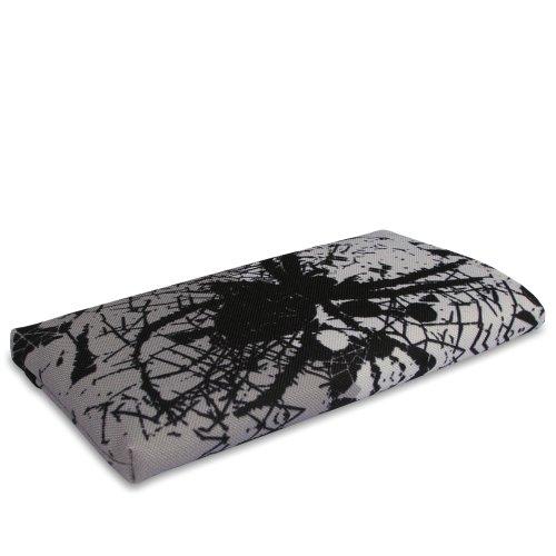 Stilbag Tasche 'MIKA' für Apple iPhone 5 - Design: Abstract Green Spider Invasion
