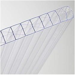 générique plaque polycarbonate 16 mm transparent - Dimensions 3,00 m x 0.98 m