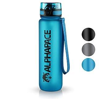 ALPHAPACE Trinkflasche 1L Sport Bpa Frei Sportflaschen Sportflasche 1 Liter Flaschen Flasche Trinkflaschen Wasserflasche Auslaufsicher 1Liter Tritan Outdoor Leicht Wasser Leichte Dicht Auslaufsichere
