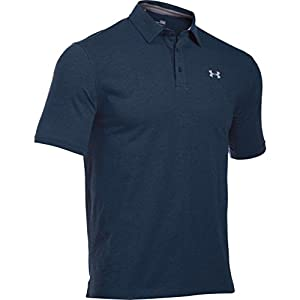 Under Armour Herren Charged Cotton Scramble Polo Kurzarmshirt, Academy, XL