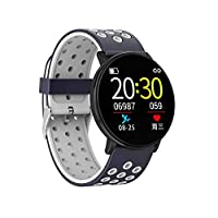 achievr Smart Watch, Bluetooth Smartwatch Wrist Watch Sports for Men Women Kids Compatible Android iOS, Ip67 Waterproof, Fitness Activity Tracker with Heart Rate Monitor