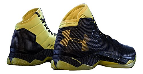 Scarpe da basket uomo Under Armour UA Curry 2.5, art. 1274425400, colore blu giallo Black/Taxi/Taxi